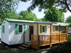 Location - Mobile Home Confort  Terrasse Couverte 14 Nuits Minimum - Camping Val Vert