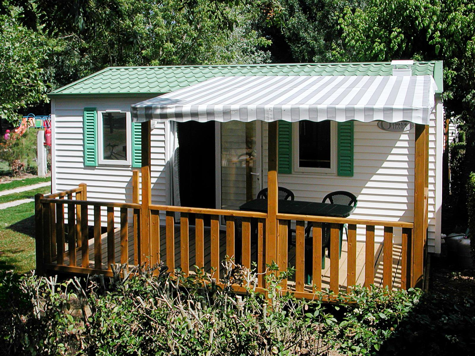 Location - Mobile Home Confort Terrasse Couverte 4 Pers 14 Nuits - Camping Val Vert