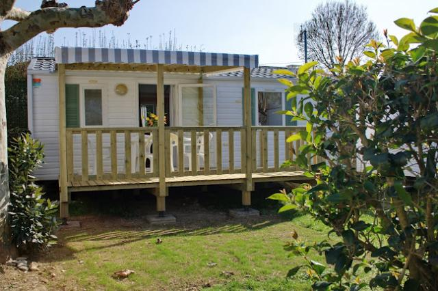 Location - Mobile Home Confort+ Terrasse Couverte  14 Nuits - Camping Val Vert