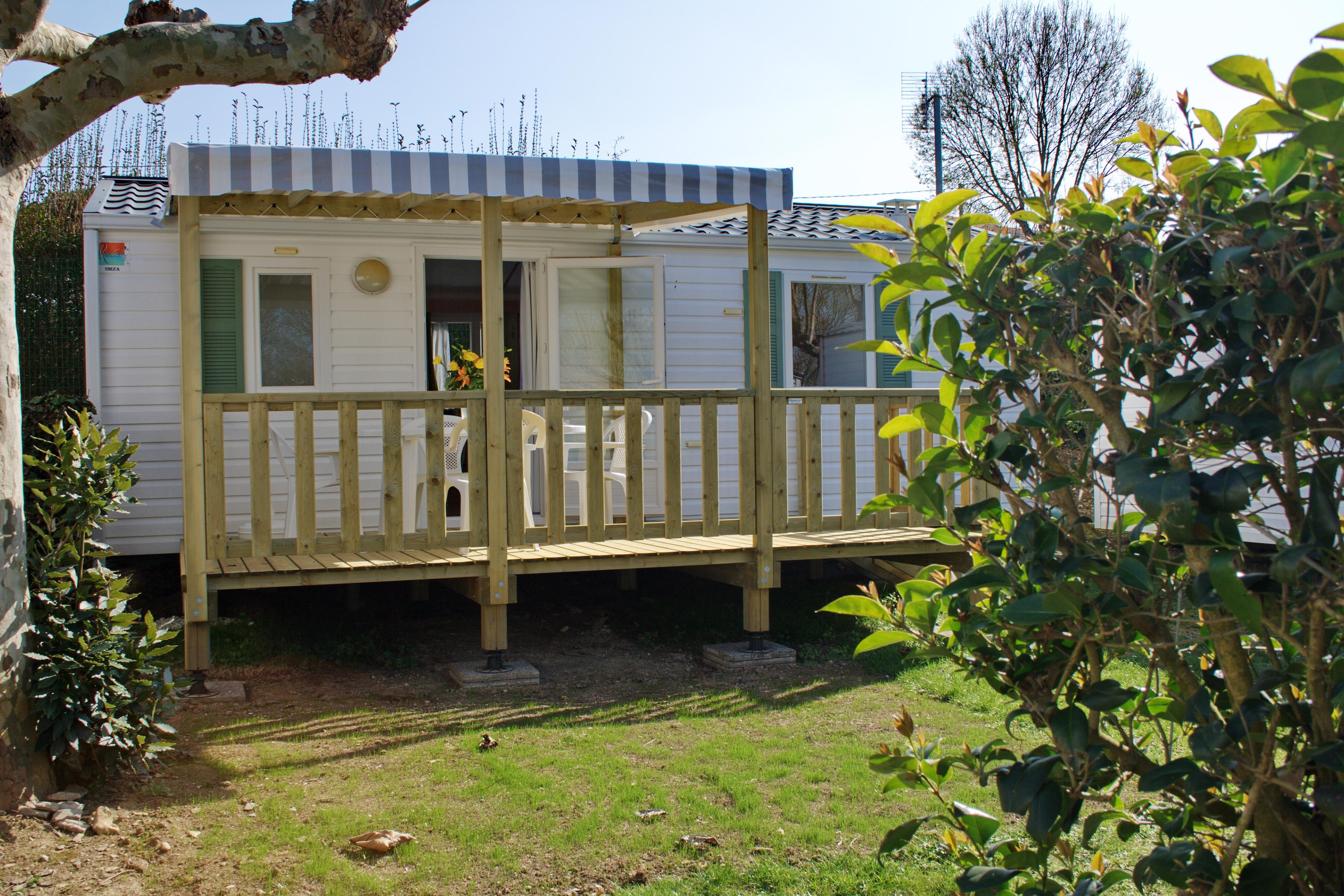 Location - Mobile Home Confort+Terrasse Couverte - Camping Val Vert