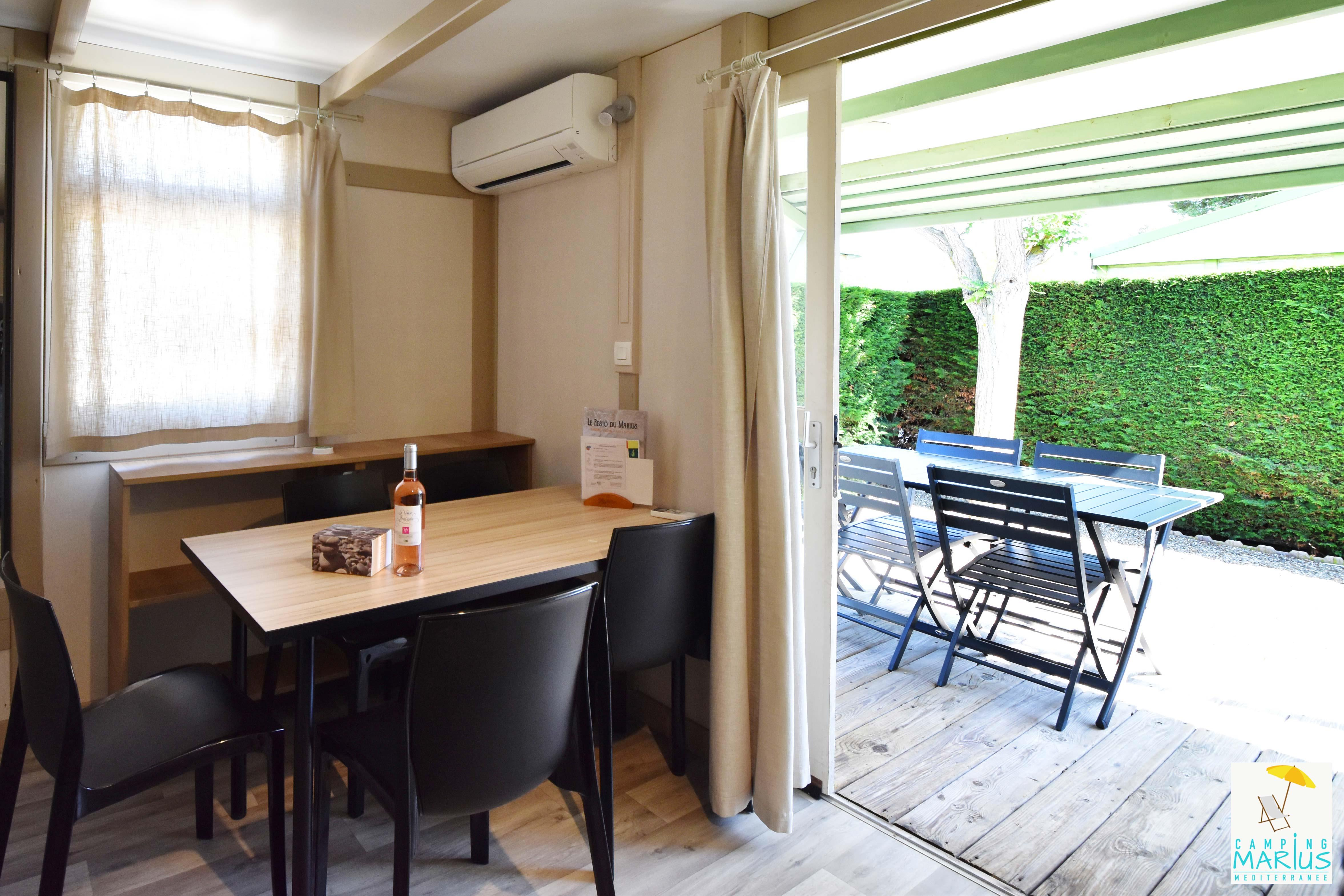 Chalet Club Confort 23m² (2 chambres)
