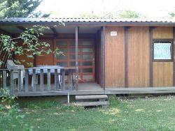 Rental - Chalet GITOTEL/ILOT  6 persons - 36 m² with covered terrasse- - Camping AU P'TIT BONHEUR