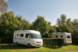 Pitch - Privilege Package (1 tent, caravan or motorhome / 1 car / electricity 16A) + Water point - Camping Le Bois Vert