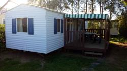 Mobil-Home 2 bedrooms 25m² + sheltered terrace 12m²