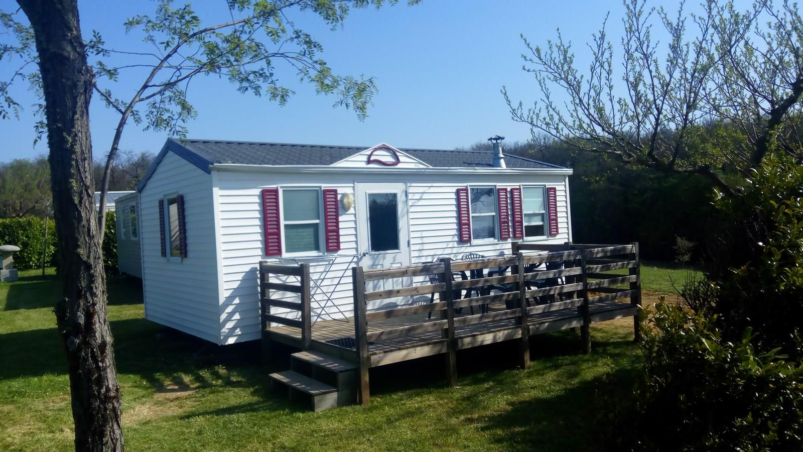 Accommodation - Mobil-Home 2 Chambres O'hara Ophea 704 26M2 + Grande Terrasse (1 Modèle Sur Le Camping) - Camping Domaine Saint Laurent