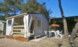 Rental - Tithome Fuschia 20 M² - 2 Bedrooms + Terrace - Camping Côté Plage