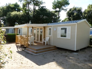 Mobilhome Magdalena 33 M² - 3 Bedrooms + Sheltered Terrace