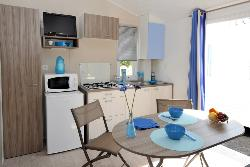 Huuraccommodaties - Stacaravan Rivesaltes - Reversible Air Conditioning - Tv - Camping CALA GOGO