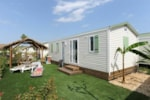 Rental - Mobile home COLLIOURE - Reversible air conditioning - TV - Camping CALA GOGO