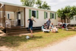 Rental - Mobile home CARAMANY  - Reversible air conditioning - Camping CALA GOGO