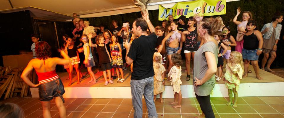 Entertainment organised Camping SALATA - ROSAS
