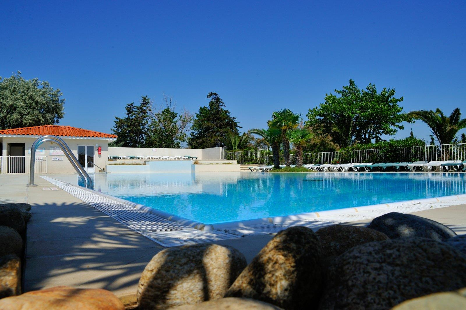 Bathing Camping Les Fontaines - Canet En Roussillon
