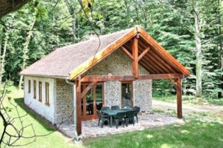 Chalet Luxe Ecological - 50 M², Wc, Shower, Terrace