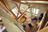 Rental - Chalet Luxe Ecological - 50 m², WC, shower, terrace - Creuse Nature Naturisme