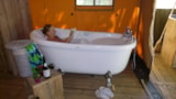 Rental - Safari Tent 65M2 with Toilet and Bath - Creuse Nature Naturisme