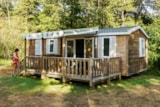 Rental - Mobilhome 32m² wc-terras-douche - Creuse Nature Naturisme