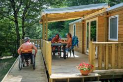 Mobile-Home Adapted To The People With Reduced Mobility Handi 30,5 M² Terrace, Shower+Toilet