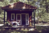 Rental - Chalet  - 25 M², Wc, Shower, Terrace - Creuse Nature Naturisme