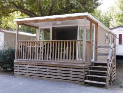 Locatifs - Mobil-Home Ohara 2 Chambres - Terrasse Couverte - International Camping