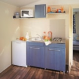 Rental - Mobil-home IRM 27m² (2 bedrooms) - Camping Les Romarins