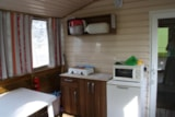 Rental - Mobil Home without  toilet 19.7m² (2 bedrooms) - Camping Les Romarins