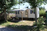 Rental - Mobil-Home Irm 27M² (2 Bedrooms) 5 Persons +/- Baby - Camping Les Romarins