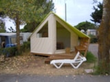 Rental - Sahari Without Toilet Blocks 17 M² - Camping Les Romarins