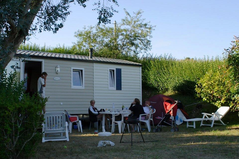 Location - M-Home Trigano 25M² (2 Ch) Terrasse Vue Mer - Camping Sites et Paysages Le Panoramic
