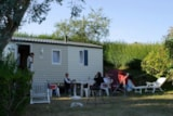 Rental - Trigano Elegante 25M² (2 Bedrooms) Seaview - Camping Sites et Paysages LE PANORAMIC