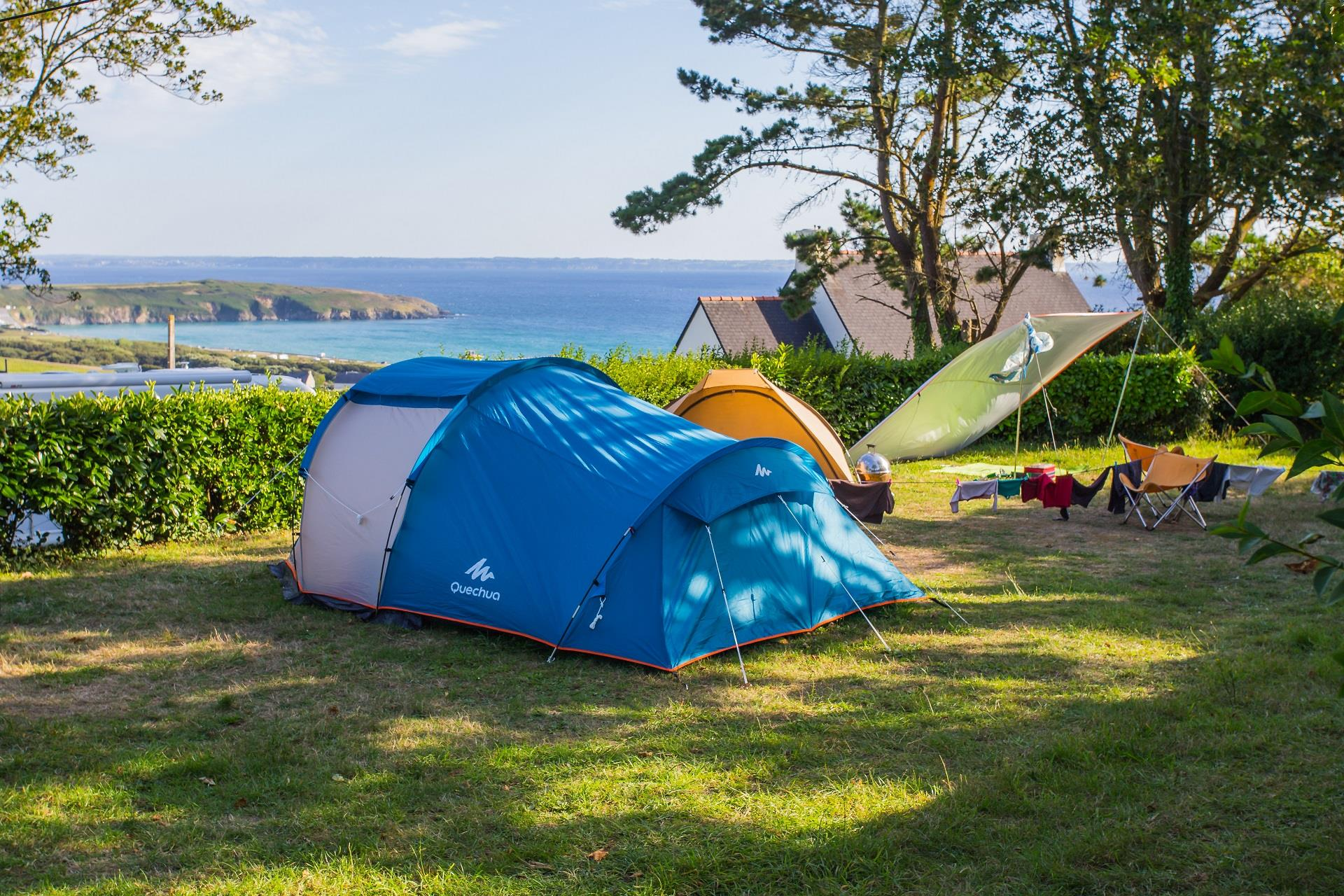 Emplacement - Emplacement Xxl +/- 175M² - Camping Sites et Paysages Le Panoramic