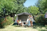 Pitch - Pitch +1  vehicle + 2 pers - Camping La Vallée du Paradis