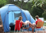 Parcela - Camping pitch + 2 persons + 1 vehicle - Camping La Vallée du Paradis