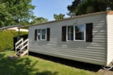 Rental - Mobile home ALLAMANDA Eco 25m² 2 bedrooms - Camping Le Moteno