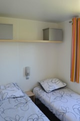 Rental - Mobile home JACINTHE 30m² - 2 Bedrooms + sheltered terrace - Camping Le Moteno