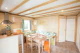Rental - Chalet ORCHIDEE 35m² 3 bedrooms + sheltered terrace - Camping Le Moteno