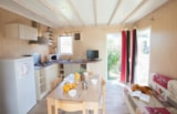Rental - Chalet JACINTHE  confort+ 30m² - 3 Bedrooms + Terrace - Camping Le Moteno