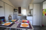 Rental - Mobil home HIBISCUS  Confort 25m² 2 bedrooms (- 7 years) sheltered terrace - Camping Le Moteno