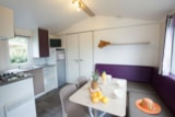 Rental - Mobil home HIBISCUS  Confort 25m² 2 bedrooms (- 7 years) sheltered terrace - Flower Camping Le Moteno