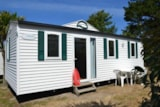 Rental - Mobile Home Jacinthe Eco 30M² - 3 Bedrooms - Camping Le Moteno