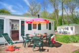 Rental - Mobile home Family 32m² (3 bedrooms) - Castel Les Bois du Bardelet
