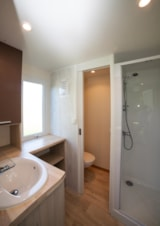 Pitch - Luxury pitch with private bathroom - 180m² - 16A - Castel Les Bois du Bardelet