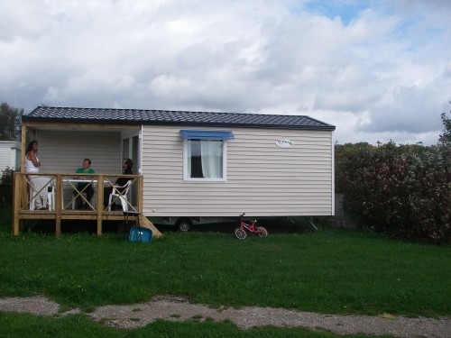 Mobil-Home O'Hara 29m² / 2 chambres - terrasse couverte