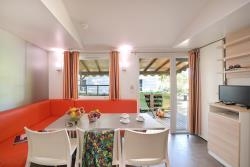 Location - Mobil Home Confort + Tv 31M² (3 Chambres) +  Terrasse Couverte - Flower Camping La Chataigneraie