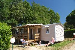 Rental - Mobile Home Confort 24M² - 2 Bedrooms - Sheltered Terrace - Flower Camping La Chataigneraie