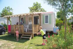 Accommodation - Mobile Home Fruité 2 Bedrooms / Super Mercure Family (Year 2012) - Camping Le Soleil Fruité