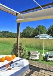 Rental - Mobil-home Garden - 1 bedroom - Domaine de Soleil Plage