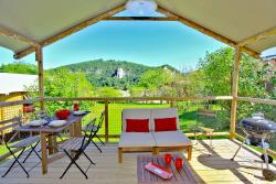 Rental - WOODEN LODGE - 2 bedrooms 5 pers. - Domaine de Soleil Plage