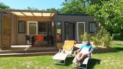Rental - Mobile-home 3 bedrooms+ jacuzzi new 2018 - Domaine de Soleil Plage