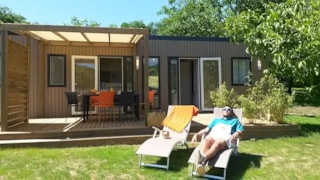 Mobile-home 3 bedrooms+ jacuzzi new 2018