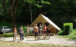 Tent Lodge Amazone 22M² Without Toilet Blocks